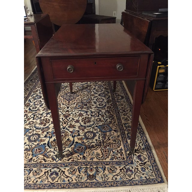 Early 19th Century Mahogany Pembroke Table For Sale - Image 13 of 13