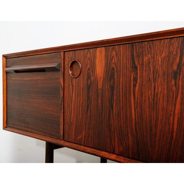 Slim Rosewood Credenza by Haug Snekkeri For Sale In New York - Image 6 of 11