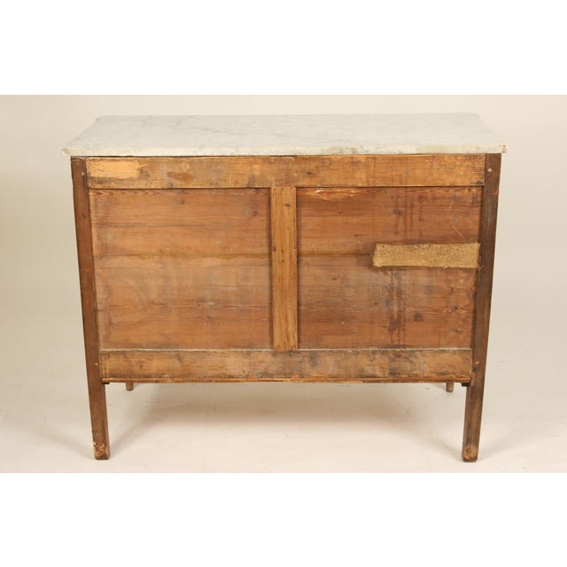 19th Century Louis XVI Style Chest of Drawers For Sale - Image 4 of 13