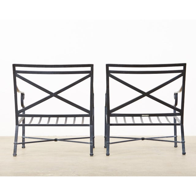 Brown Jordan Venetian Aluminum Patio Lounge Chairs - a Pair For Sale - Image 12 of 13