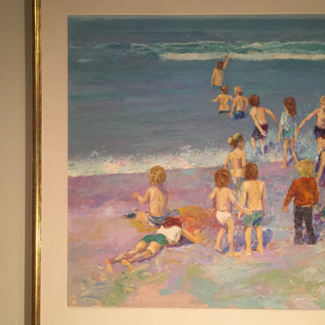 Day at the Beach Painting by Anton Sipos - Image 4 of 4