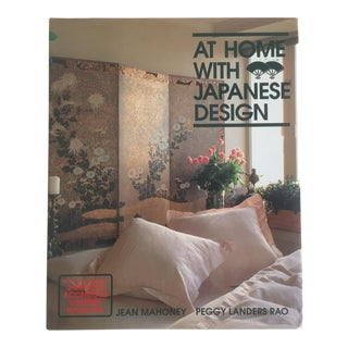 """At Home With Japanese Design "" Vintage Interior Design 1st Edtn Hardcover Book"