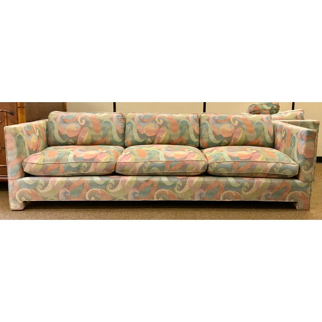 1970s 1970s Vintage Milo Baughman Style Sofa For Sale - Image 5 of 8