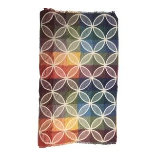 Moma Textiles Cloisonné Reversible Throw Blanket by Osamu Mita For Sale