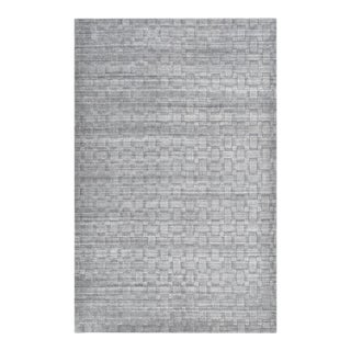 Peyton, Contemporary Modern Hand Loom Area Rug, Gray, 9 X 12 For Sale