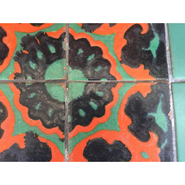 Mission Calfornia Catalina Tile Top Table Mission For Sale - Image 3 of 8