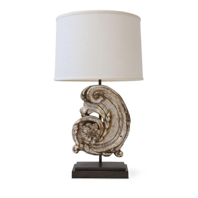 Silver Gilt Custom Lamp For Sale - Image 9 of 9