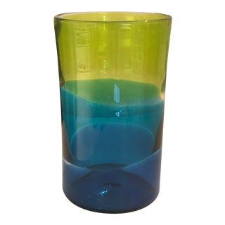 Pean Doubulyu Glass Incalmo Vase