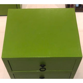 Green Leather Chest of Drawers Preview