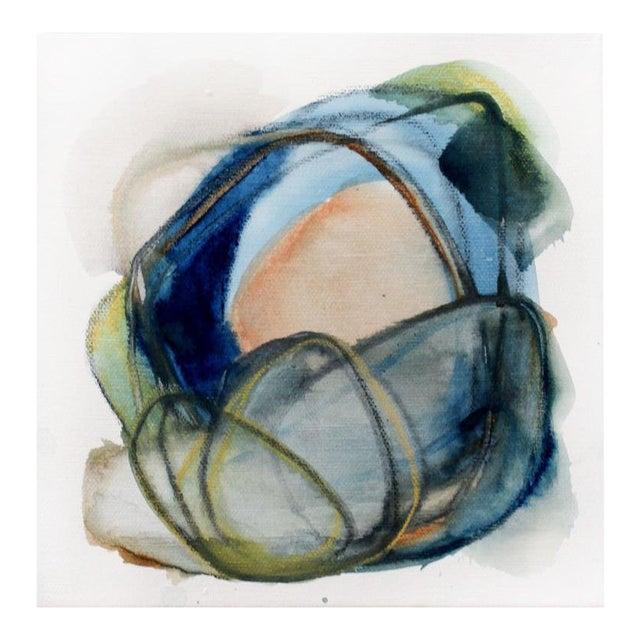 """Riverstone Iii"" Original Painting by Ellen Sherman For Sale"
