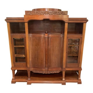 Early 20th Century Danish Display Cabinet For Sale