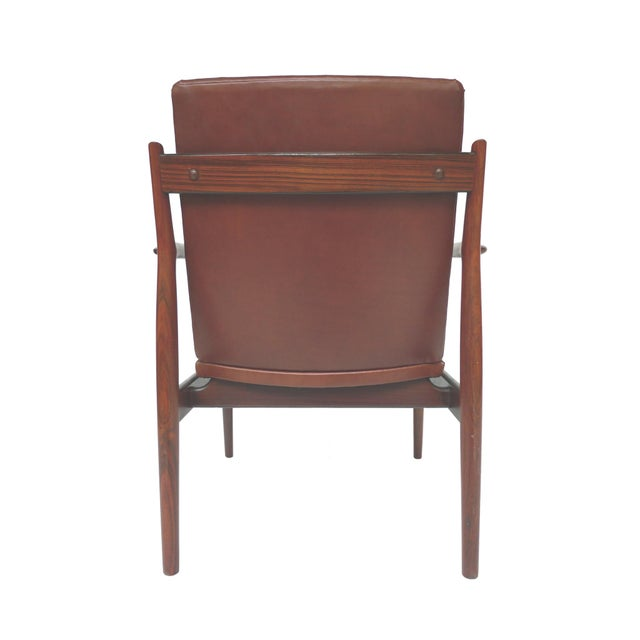 Mid-Century Rosewood Armchairs by Arne Vodder - A Pair - Image 5 of 10