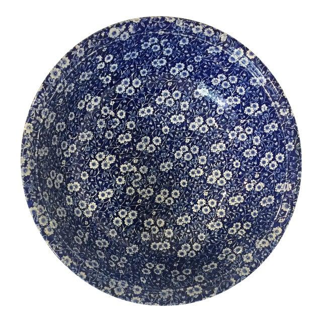 Staffordshire Calico Large Bowl - Image 1 of 5
