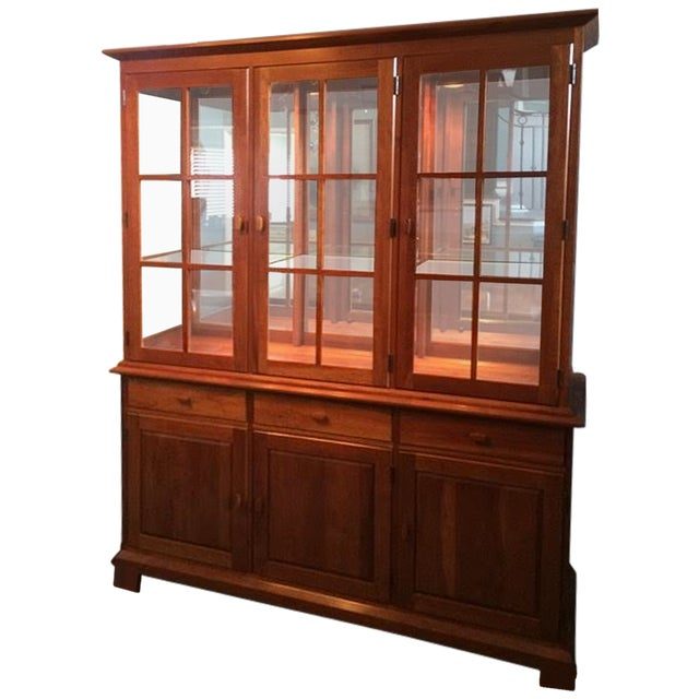 Pennsylvania House Shaker China Cabinet - Image 6 of 6