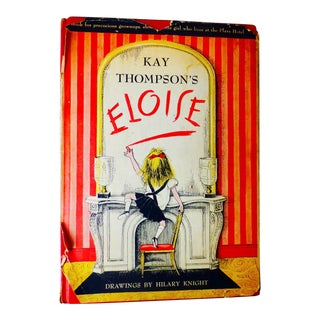 1955 Vintage Eloise Book by Kay Thompson, Hilary Knight For Sale
