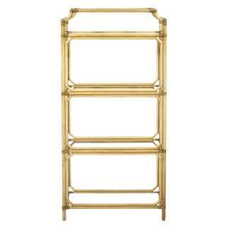 Selamat Designs Regeant Etagere in Nutmeg