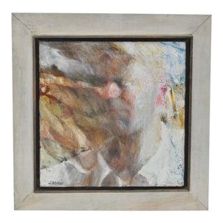 Dana A. Loomis Mid Century Abstract Portrait C.1958 For Sale