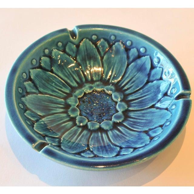 Mid-Century Freeman McFarlin Floral Bowl - Image 2 of 7