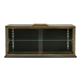 Art Deco Period French Display Case or Curio Cabinet For Sale