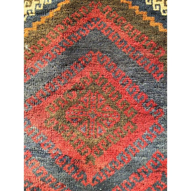 Vintage Persian Baluchi Small Area Rug- 2′10″ × 4′4″ - Image 5 of 8