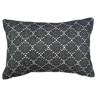 Hand-Woven Tribal Quilt Pillow