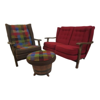 Whiskey Barrel Living room Set