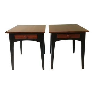 1990s Ethan Allen American Impressions End Tables - A Pair For Sale