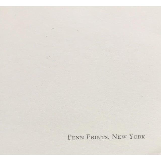 1960s Emile Nolde Watercolor Print - Image 5 of 6