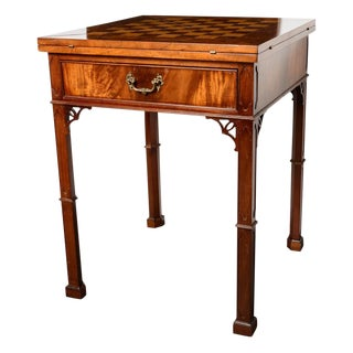 Chippendale Style Envelope Folding Game Table