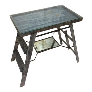 Recycled Ladder Side Table