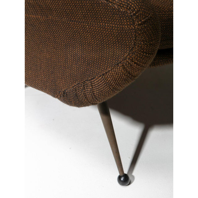 "Mid-Century Modern ""Martingala"" Lounge Chair by Marco Zanuso for Arflex For Sale - Image 3 of 6"