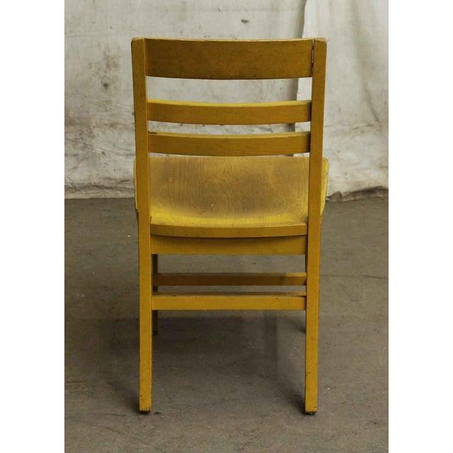 Wooden School Chair - Image 5 of 7