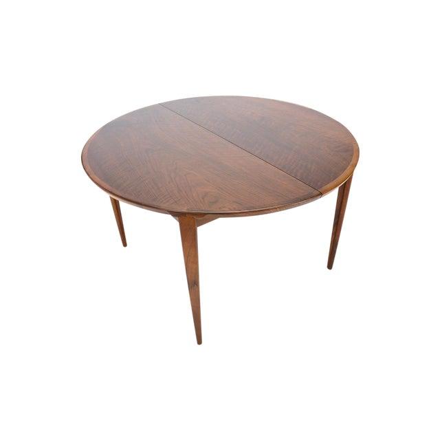 Rosengren Hansen Round Walnut Dining Table - Image 1 of 9