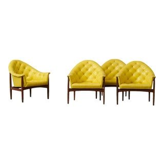 Milo Baughman Lounge Chairs - Set of 4
