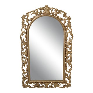 Friedman Brothers Gold Frame Mirror For Sale