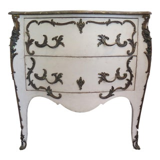 19th Century Rococo Painted Commode