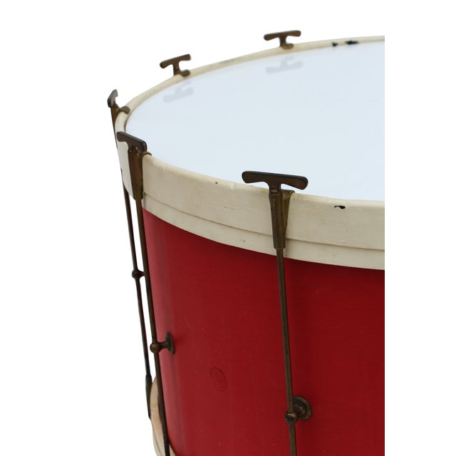 Round Drum Table on Casters - Image 3 of 6