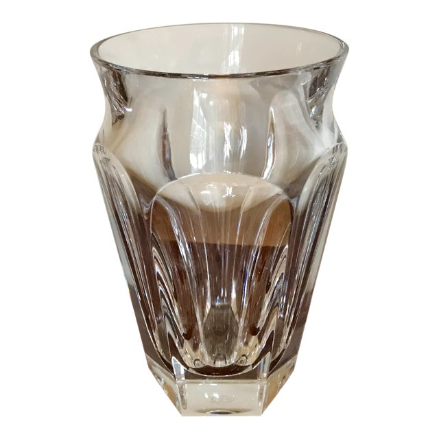 Baccarat Crystal Nelly Vase For Sale