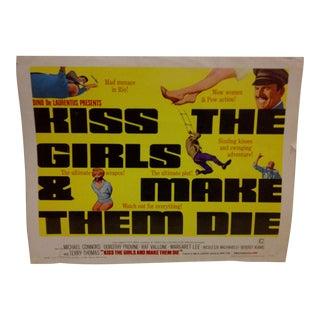 1966 Vintage Movie Poster For Sale