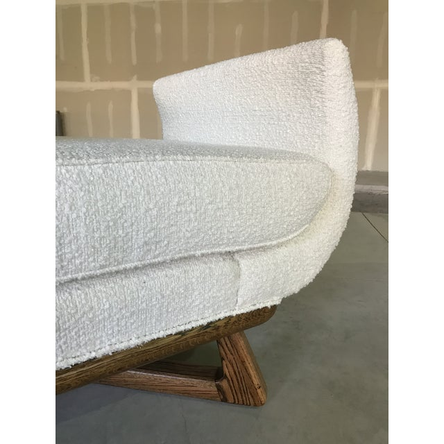Ivory 20th Century Mid Century Modern Paul Laszlo for Brown Saltman Sculptural Chaise For Sale - Image 8 of 13