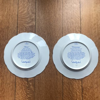 "1970s Haviland Limoges ""Theatre Des Saisons"" Plates - a Pair Preview"
