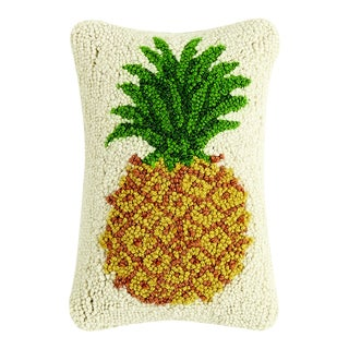 """Pineapple Hook Pillow, 8"""" x 12"""" For Sale"""