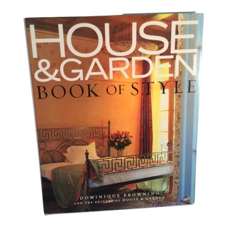 House & Garden, Book of Style For Sale