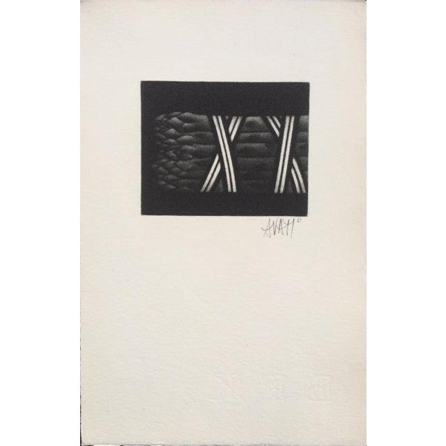 Contemporary Mario Avati Mid Century Still Life Asparagus For Sale - Image 3 of 4