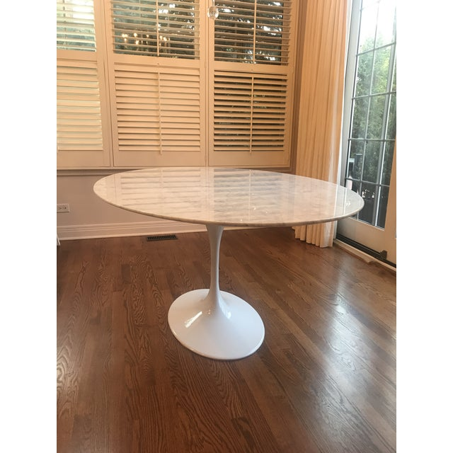 Mid-Century Modern France and Son Tulip Oval Dining Table For Sale In Chicago - Image 6 of 6