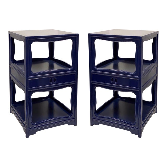 Pair of Michael Taylor for Baker Furniture Side Tables For Sale