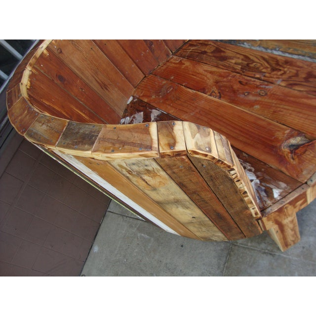 Hand-Made Lounge Chair For Sale - Image 10 of 13