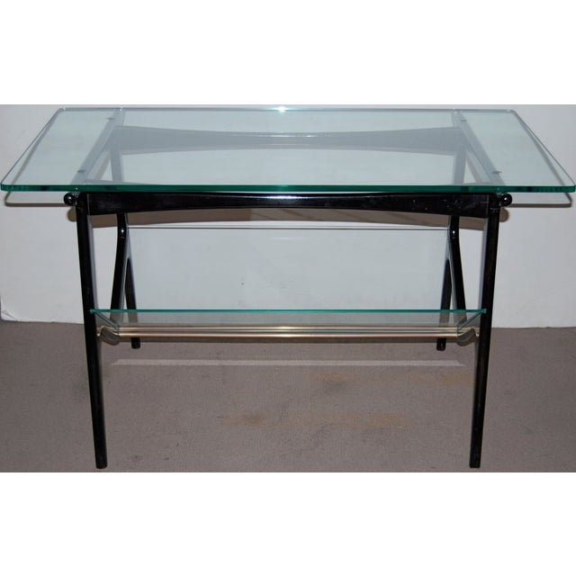 Cesare Lacca Cesare Lacca Sculptural Glass Table For Sale - Image 4 of 4