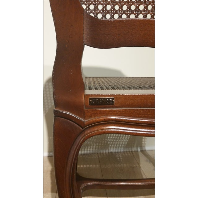French Cane Back and Seat Side Chair - Image 6 of 6