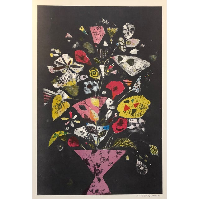 1960s Arnold Blanch Still Life Paintograph For Sale - Image 4 of 4